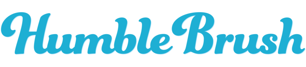 Logo Humble Brush bij Bio Amable