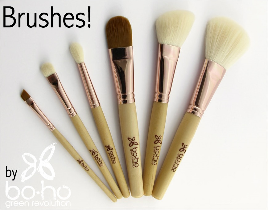 Set Vegan brushes