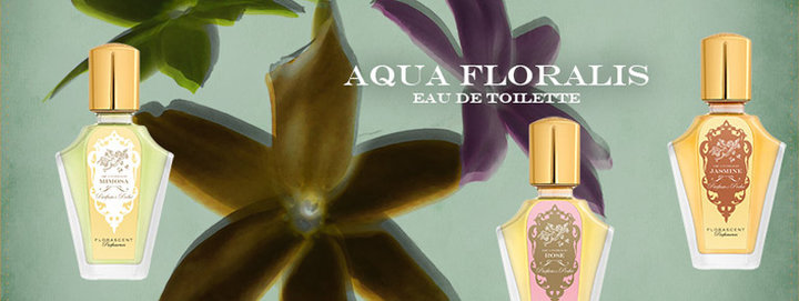 Een prachtige collectie natuurlijke parfums van Florascent