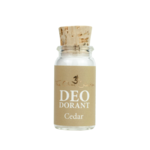 Cedar mini deo poeder | The ohm collection