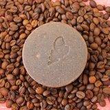 Koffie zeepje om geurtjes te verwijderen als vis en ui