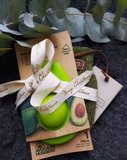 Cadeauset - The Avocado Sock Olive & Avocado Hugger_