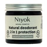 Parfumvrije coconut deodorant crème   Niyok