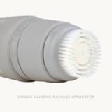 Innovatieve opzetborstel die de huid masseert