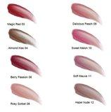 Kleuren lipgloss van Lavera