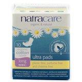 Natracare - Maandverband Long Met Vleugels / Natural Ultra Pad With Wings Long_