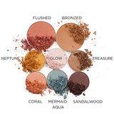 Pacifica - Oogschaduw, Blush & Highlighter Palette: Solar_