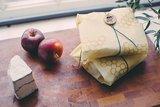 Bee's Wrap - Sandwich 33 x 33 (Creme/Bruin)_