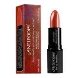 Mooie roodbruine lipstick