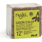 Najel - Aleppo Zeep: Pure Olive Soap 12% Laurier