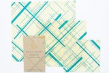 """Bee's Wrap - 3-Pack Assortiment """"Everybody's Teal"""" Small, Medium & Large_"""