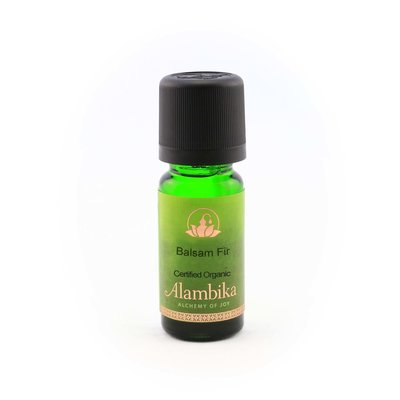 Alambika - Etherische olie: Balsem Fir / Balsemspar Biologisch Gecertificeerd 10 ml  (tht: 03-2020)