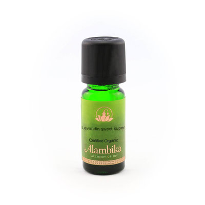 Alambika - Etherische olie: Lavandin Sweet (Super) Biologisch Gecertificeerd 10 ml