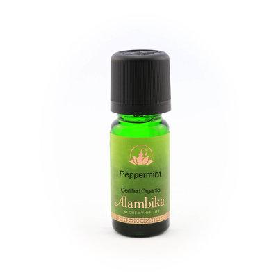 Alambika - Etherische olie: Peppermint, Biologisch Gecertificeerd 10 ml