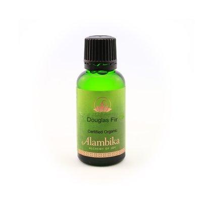 Alambika - Etherische olie: Douglas Fir / Douglas spar Biologisch Gecertificeerd 30 ml (tht: 03-2020)