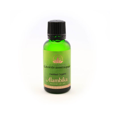 Alambika - Etherische olie: Lavandin Sweet (Super) Biologisch Gecertificeerd 30 ml