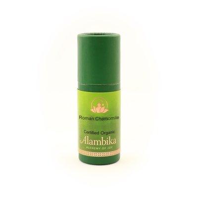 Alambika - Etherische olie: Roman Chamomile  / Roomse Kamille Biologisch Gecertificeerd 1ml