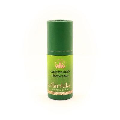 Alambika - Etherische olie: Jasmine Arab (Sambac) / Jasmijn 1 ml