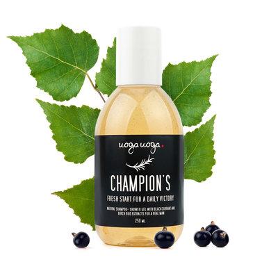 Uoga Uoga - Vegan Shampoo & Bodywash: Champion's