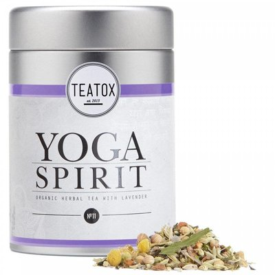 Teatox - Biologische Losse Thee In Blik: Yoga Spirit