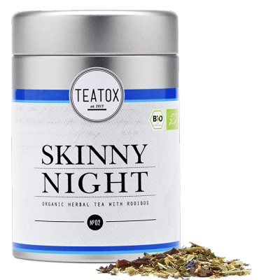 Teatox - Biologische Losse Thee In Blik: Skinny Night