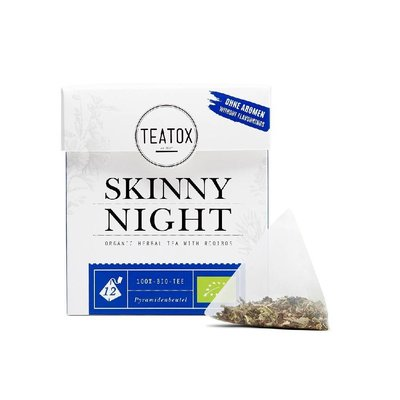 Teatox - Biologische Tea Bags: Skinny Night