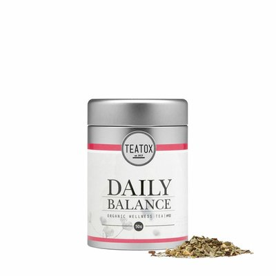Teatox - Biologische Losse Thee In Blik: Daily Balance