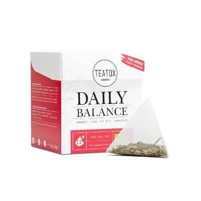 Teatox - Biologische Tea Bags: Daily Balance