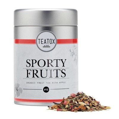 Teatox - Biologische Losse Thee In Blik: Sporty Fruits