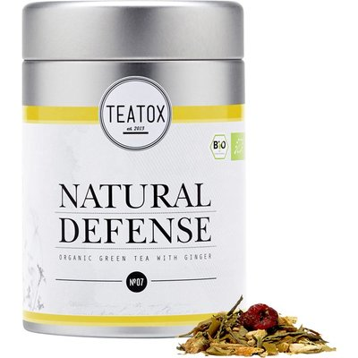 Teatox - Biologische Losse Thee In Blik: Natural Defense