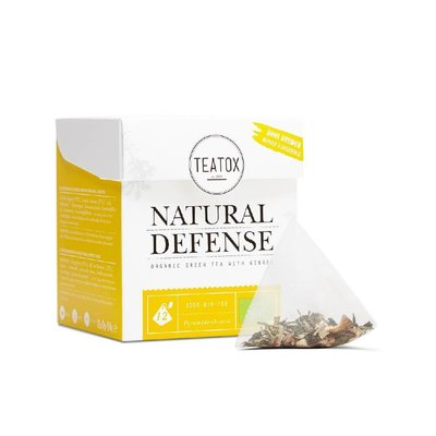 Teatox - Biologische Teabags: Natural Defense