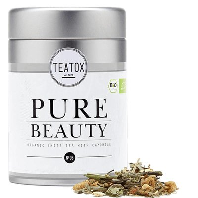 Teatox - Biologische Losse Thee In Blik: Pure Beauty