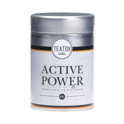 Teatox - Biologische Losse Thee In Blik: Active Power