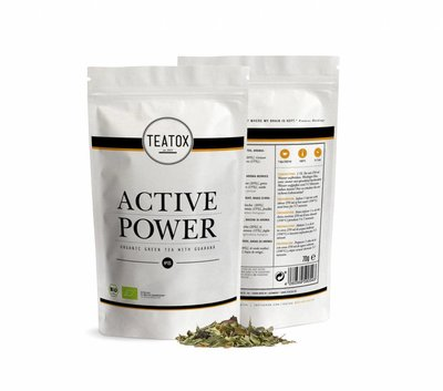 Teatox - Refill Biologische Losse Thee: Active Power