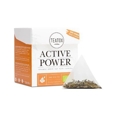 Teatox - Biologische Teabags: Active Power