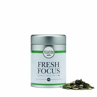 Teatox - Biologische Losse Thee In Blik: Fresh Focus