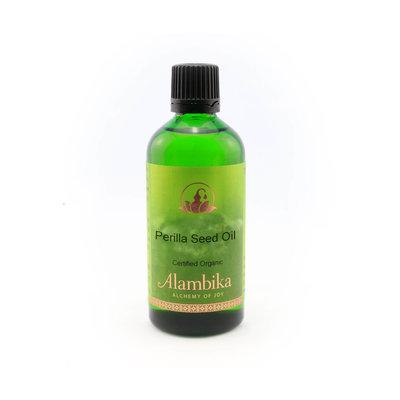 Alambika - Basis olie: Perillazaad Olie Biologisch Gecertificeerd 50 ml