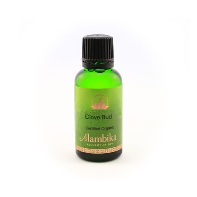 Alambika - Etherische olie: Clove Bud / Kruidnagel Biologisch Gecertificeerd 30 ml