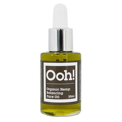 Ooh! Oils Of Heaven - Natural Organic Balancing Hemp Face Oil 30ml