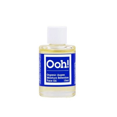 Ooh! Oils Of Heaven - Natural Organic Moisture Retention Argan Face Oil 15ml