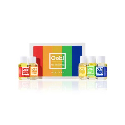 Ooh! Oils Of Heaven - Travelset Face Oil 5 x 5 ml