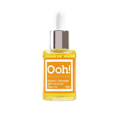 Ooh! Oils Of Heaven - Natural Organic Anti-Oxydant Moringa Face Oil 30ml