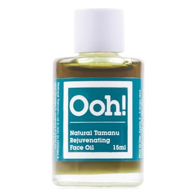 Ooh! Oils Of Heaven - Natural Rejuvenating Tamanu Face Oil 15ml