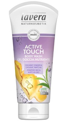 Lavera - Body Wash Active Touch: Organic Ginger & Organic Matcha