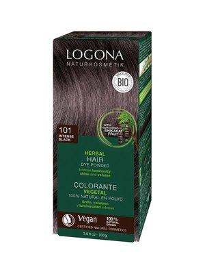 Logona - Haarverf Intens Zwart 101