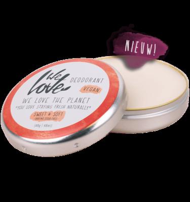 We Love The Planet - Natuurlijke Deodorant Blik: Sweet & Soft