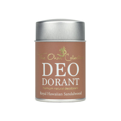 The Ohm Collection - DEOdorant Poeder Sandalwood 50 gr.
