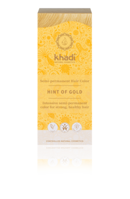 Khadi - Hair Colour: Hint Of Gold