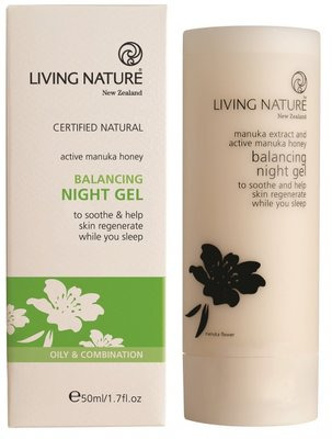 Living Nature - Balancing Nightgel (tht: 05-2020)