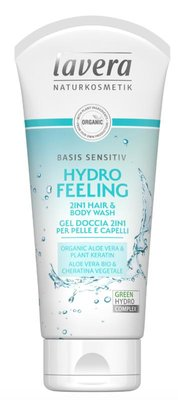 Lavera - Basis Sensitiv: Hydro Feeling 2 in 1 Hair & Bodywash
